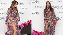 Paula Echevarría se marca 'un Angelina' en el 25 aniversario de Tacha Beauty