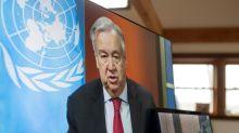 """Chefe da ONU diz que pior do coronavírus """"está por vir"""" nos países em guerra"""