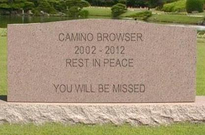 Camino web browser reaches its end of life