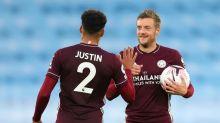 Vardy comanda vitória do Leicester sobre o Manchester City no Inglês