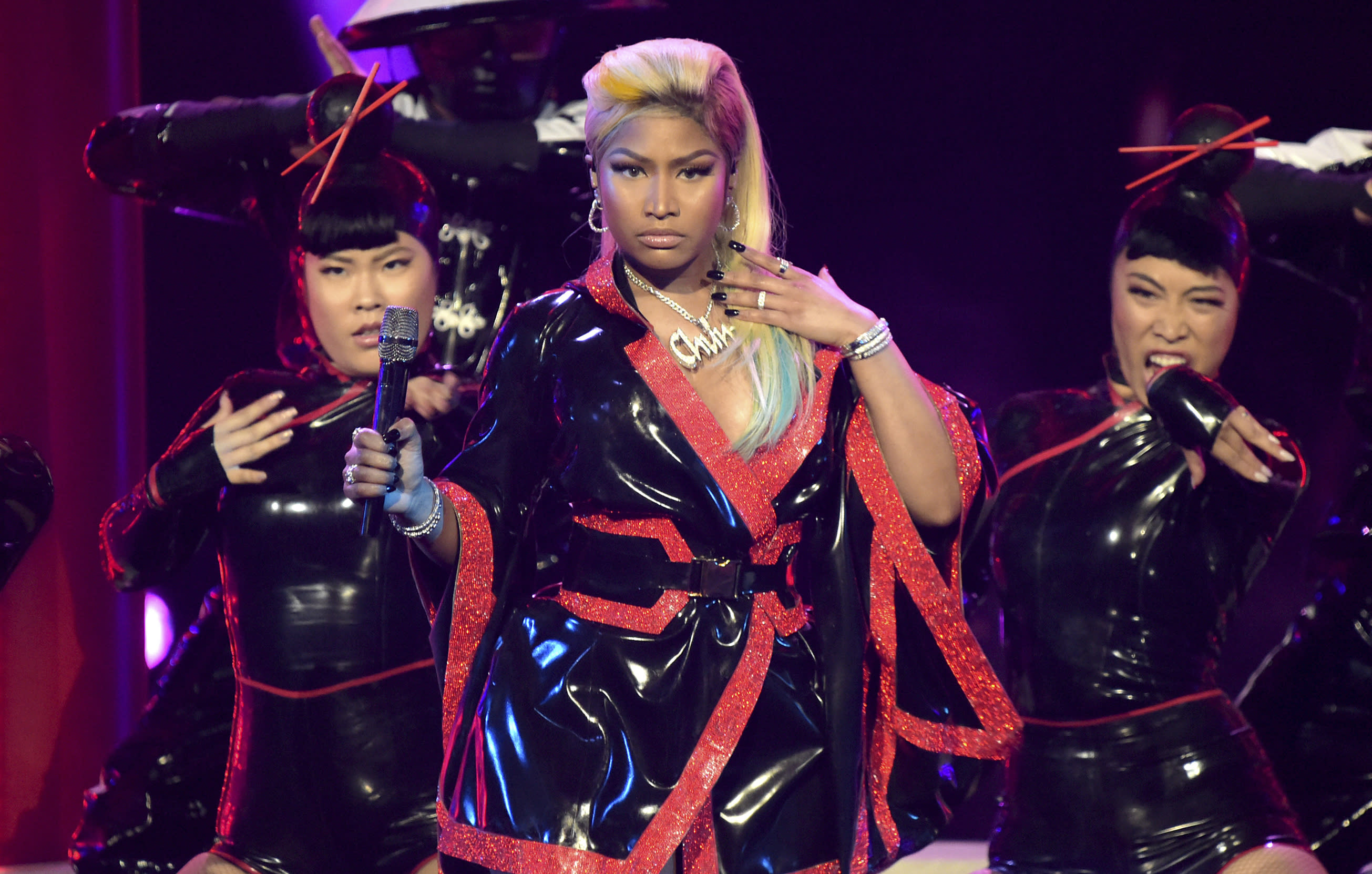 Nicki Minaj pulls out of Saudi Arabia gig over human rights