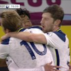 Son heads Spurs into late lead against Burnley