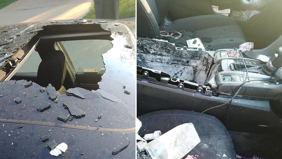 'Like a tornado': Warning after popular beauty product 'explodes' in car