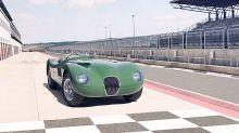 Jaguar building eight 'new' C-type models based on the 1953 Le Mans 24 Hour-winning car
