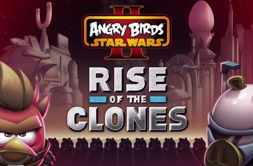 Angry Birds Star Wars 2 fights off an army of clones