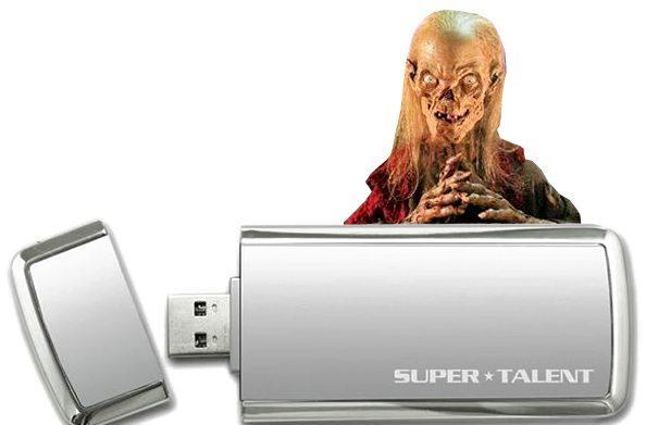 Super Talent's USB 3.0 SuperCrypt thumbdrive reviewed, Cryptkeeper approves