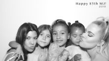 Kim Kardashian Gets Ahead of North West's Nose Ring Drama After Grandma MJ's Bday Bash