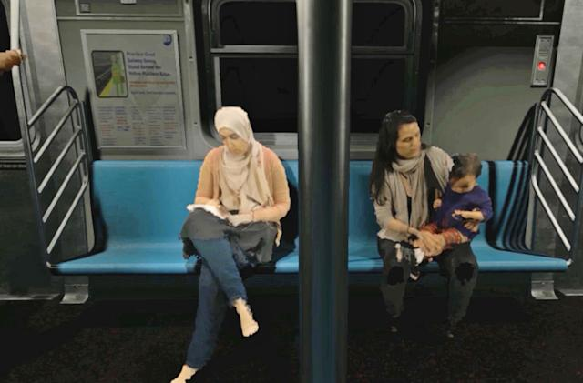 'Blackout' is a VR love letter to NYC's subway riders