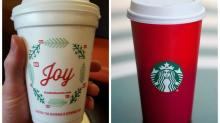 Brew Ha Ha: Dunkin' Donuts Strikes Back After Starbucks Holiday Cup Flap