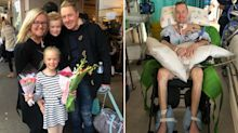 How a headache left a dad, 37, paralysed from the neck down