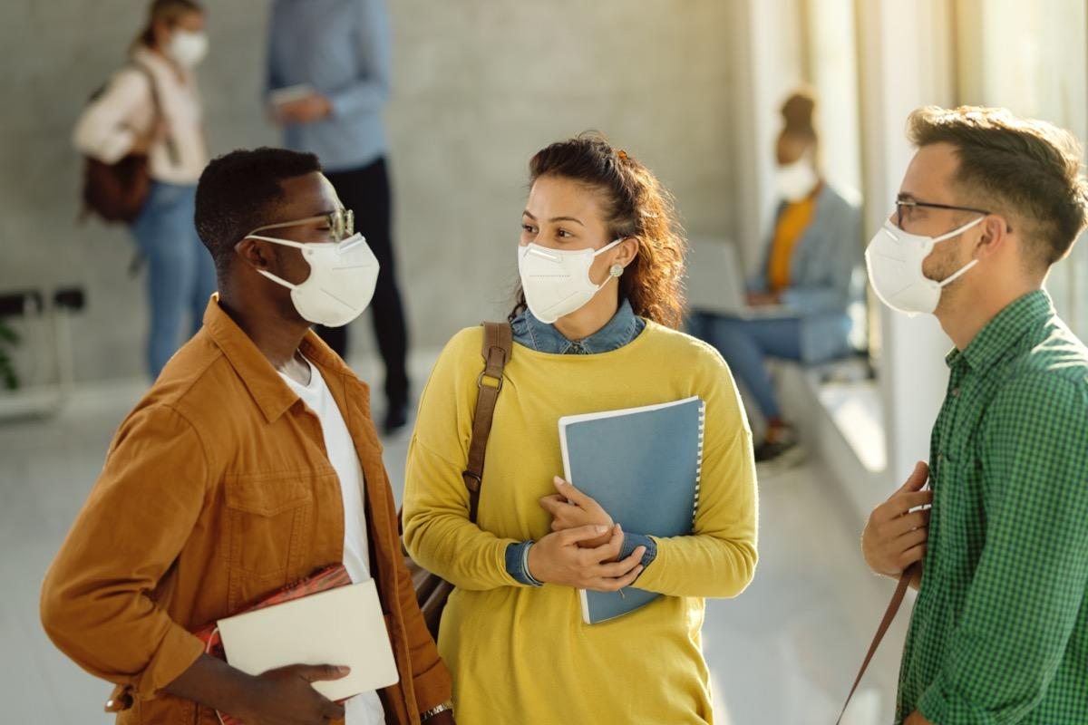If You're Still Doing This, Your Mask Isn't Protecting You, Study Says - Yahoo Lifestyle