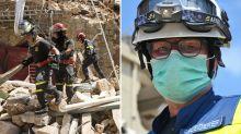 """Rettungskräfte in Beirut: """"Wir haben nur Leichen gefunden"""""""