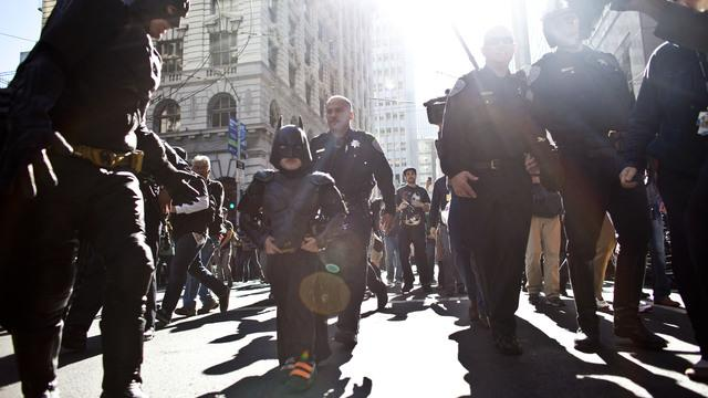 Batkid takes San Francisco by storm