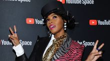 Janelle Monae Rocks Amazing Colorful Animal Print Suit to 'Dirty Computer' Screening