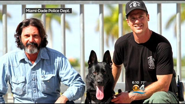 Husband Honors Dead Wife By Donating Dog To MDPD K9 Unit