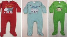 Big W issues urgent recall for baby's coveralls