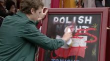 EastEnders writer defends 'Poles Go Home' story