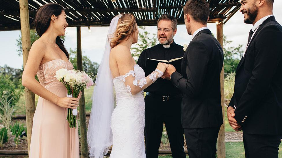 Groomsman leaves bride in tears after 'dumb' wedding day prank