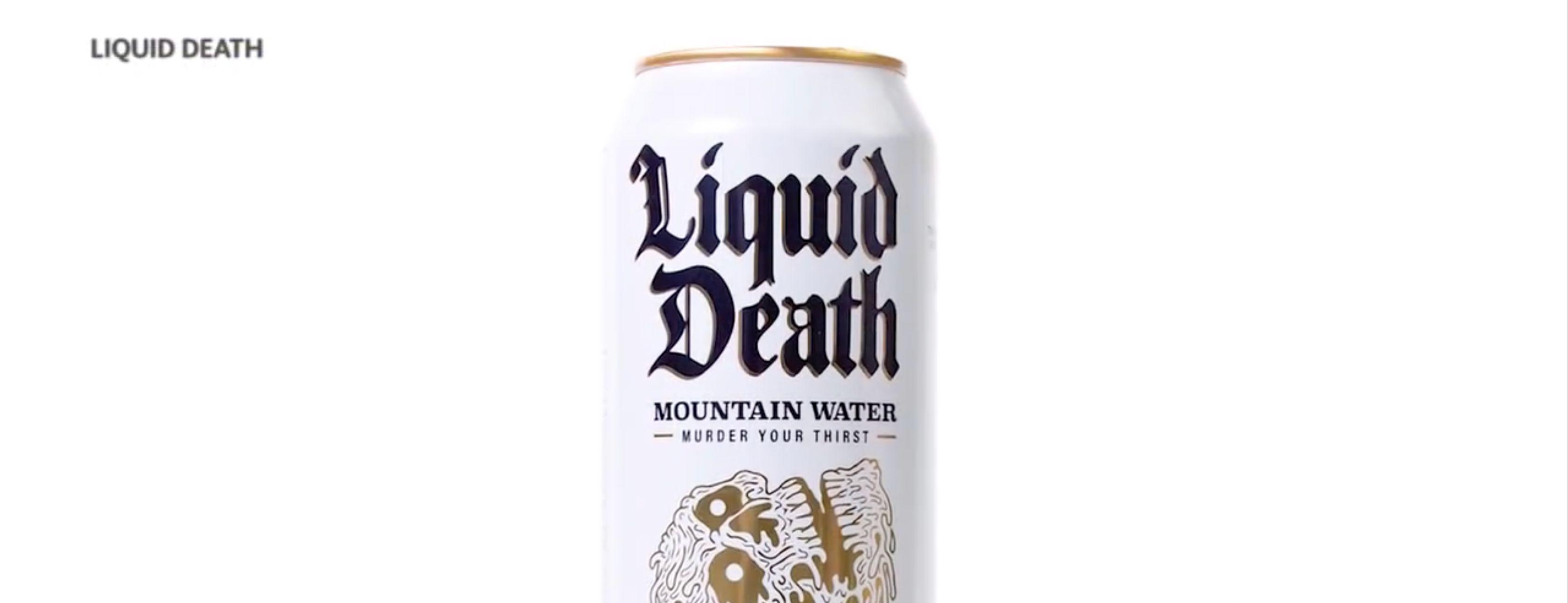 Water in a can: Liquid Death is cool and eco-friendly