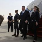Pompeo in Saudi Arabia to talk Iran, economy and human rights