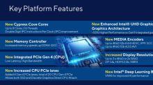 Intel 公佈第十一代 Rocket Lake 桌機處理器的更多細節