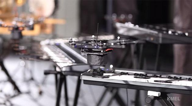 Hail HAL 9000: An orchestra of drones plays the 'Space Odyssey' theme
