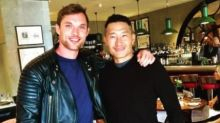 Hellboy's Daniel Dae Kim and Ed Skrein are mates now