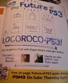 PSM3 to reveal Loco Roco 2 details?