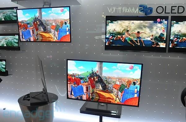 LG promises 55-inch OLED TV in 2012, just in time for the next b'ak'tun