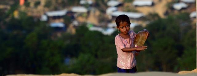 Les Rohingyas dans des abris temporaires à leur retour en Birmanie, selon Dacca