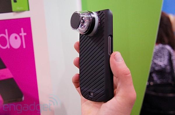 Kogeto unveils Dot panoramic video capture prototypes for Android, GoPro (video)