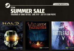 The Steam Summer Sale is live with deals on thousands of games