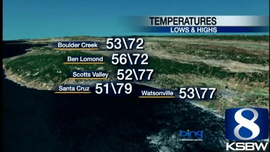 Watch Your KSBW Weather Forecast 06.18.13