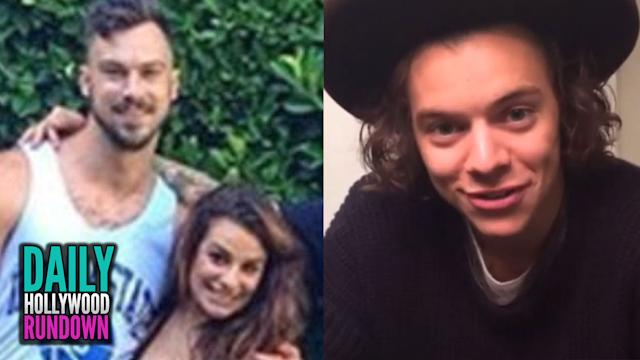 Lea Michelle Dating A Gigolo? Harry Styles Tries To Steal Bride On Wedding Day! (DHR)