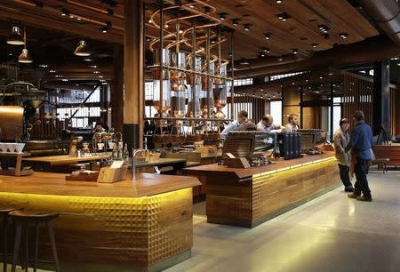 Starbucks Debuts High End Reserve Roastery And Cafe In Seattle