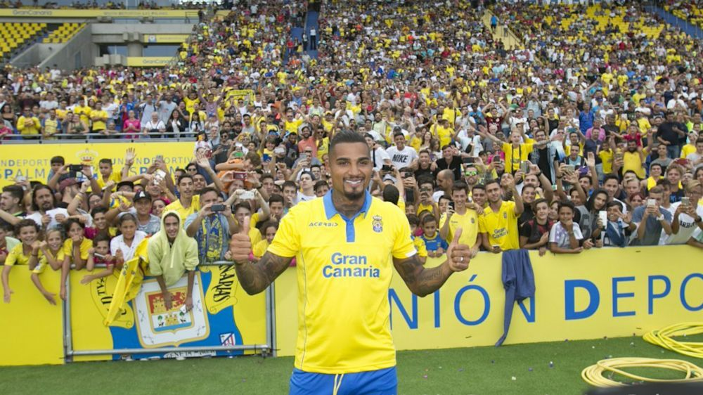 Las Palmas habría renovado a Kevin Prince Boateng