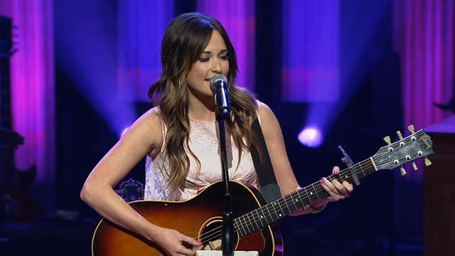 Kacey Musgraves at the Grand Ole Opry