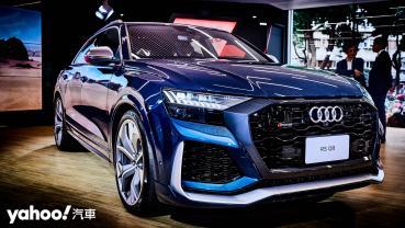 豪華頂峰亦是性能巨獸!2021 Audi全新RS Q8紐北最速LSUV正式上市!