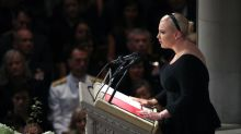 Was the president firing back at Meghan McCain with his tweet?