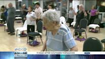 100-Year-Old Woman Doesn`t Miss a Day at the Gym