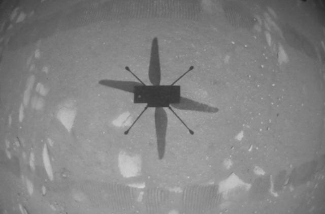 NASA's Mars helicopter becomes the first aircraft to fly on another planet