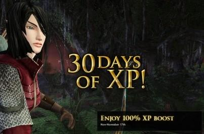 LotRO gives 100% XP boost to everyone for a month