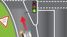 Road rules question about giving way sparks heated discussion