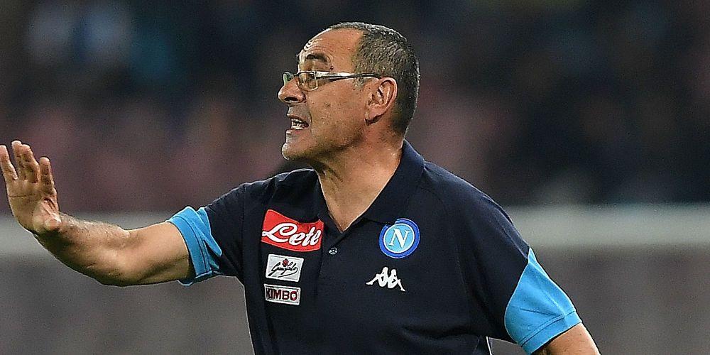 """Sarri avverte il Napoli: """"Giochiamo un bel calcio, ma da qui a vincere ce ne passa"""""""