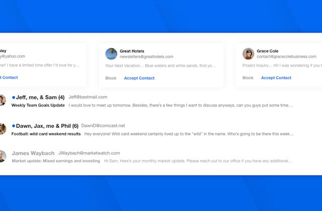 Edison's new email service lets you block senders before they hit your inbox