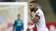 Gabigol zoa Fluminense no Instagram após vitória no Fla-Flu