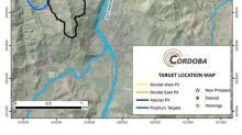 Cordoba Minerals Provides an Update on Pre-Feasibility Study Fieldwork at the 100%-Owned Alacran Copper-Gold-Silver Project in Colombia