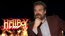 The great 'Hellboy' virginity debate: David Harbour 'sorry if someone was offended by that'