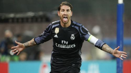 Sergio Ramos recusa rótulo de herói após ser decisivo contra o Napoli