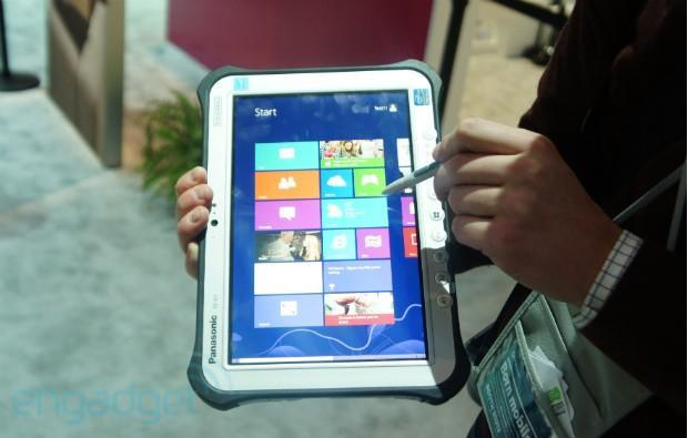 Panasonic FZ-G1 Windows 8 Pro and JT-B1 Android Toughpad tablets hands-on